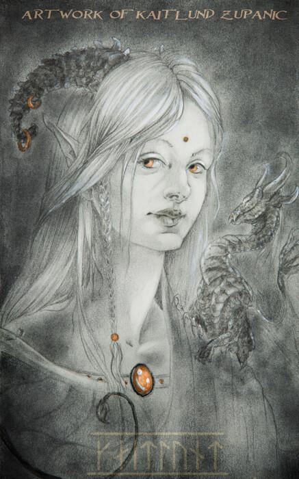 Dragon Woman by Kaitlund Zupanic