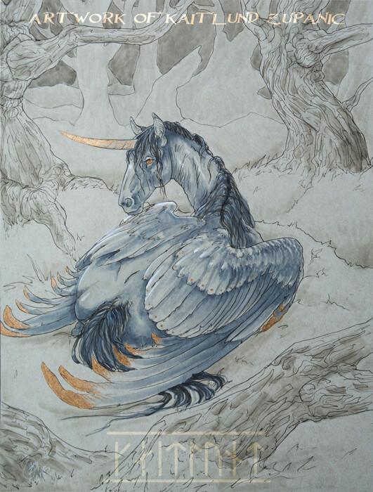 Gilded Ebony by Kaitlund Zupanic